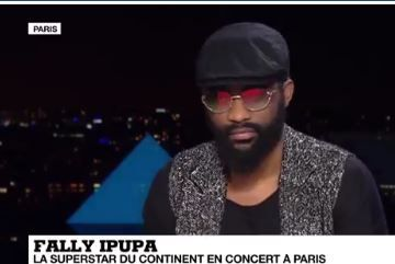 Fally IPUPA. Photo capture d'écran, France 24