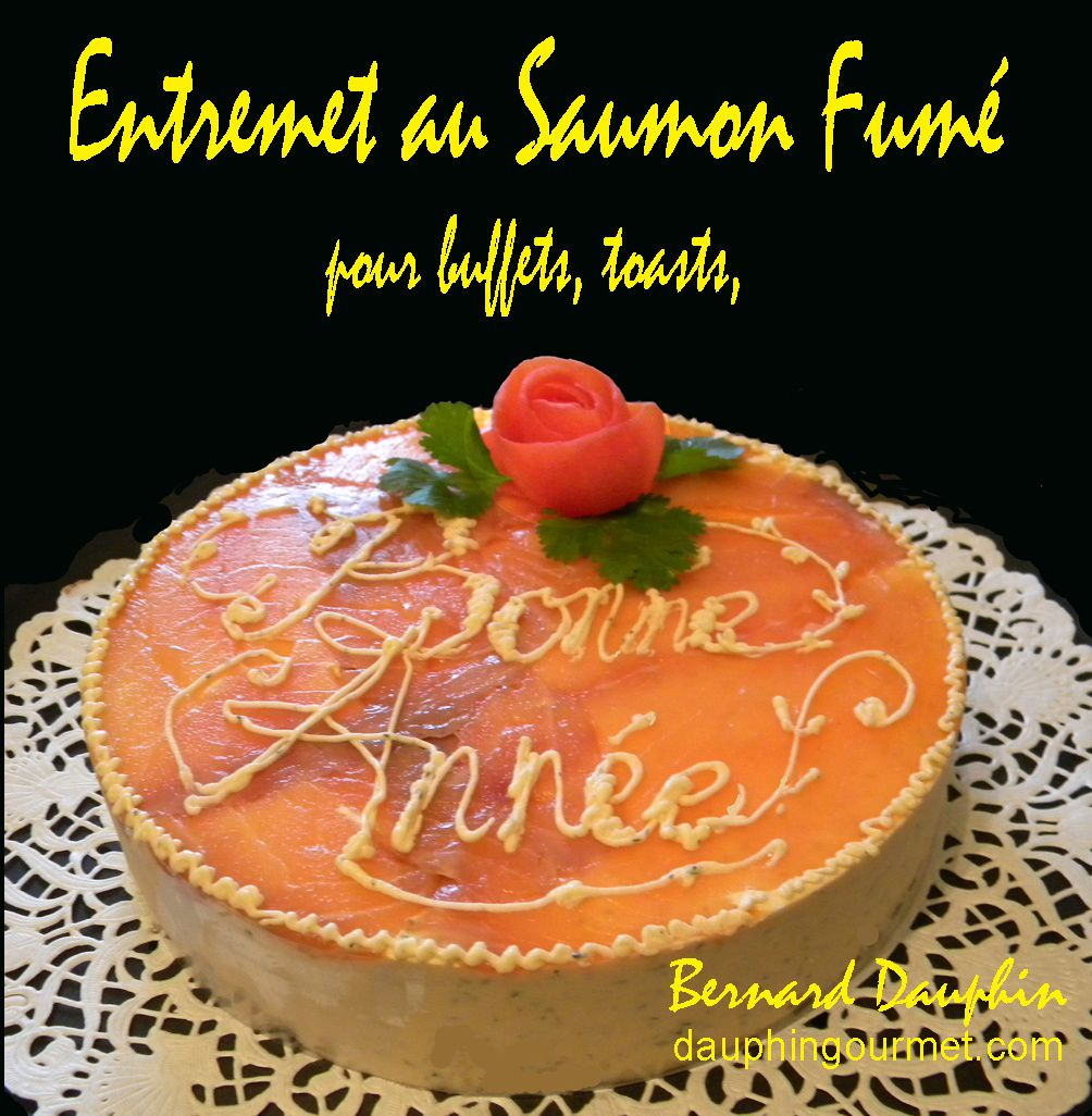ENTREMETS SALES POUR BUFFETS DE RECEPTION