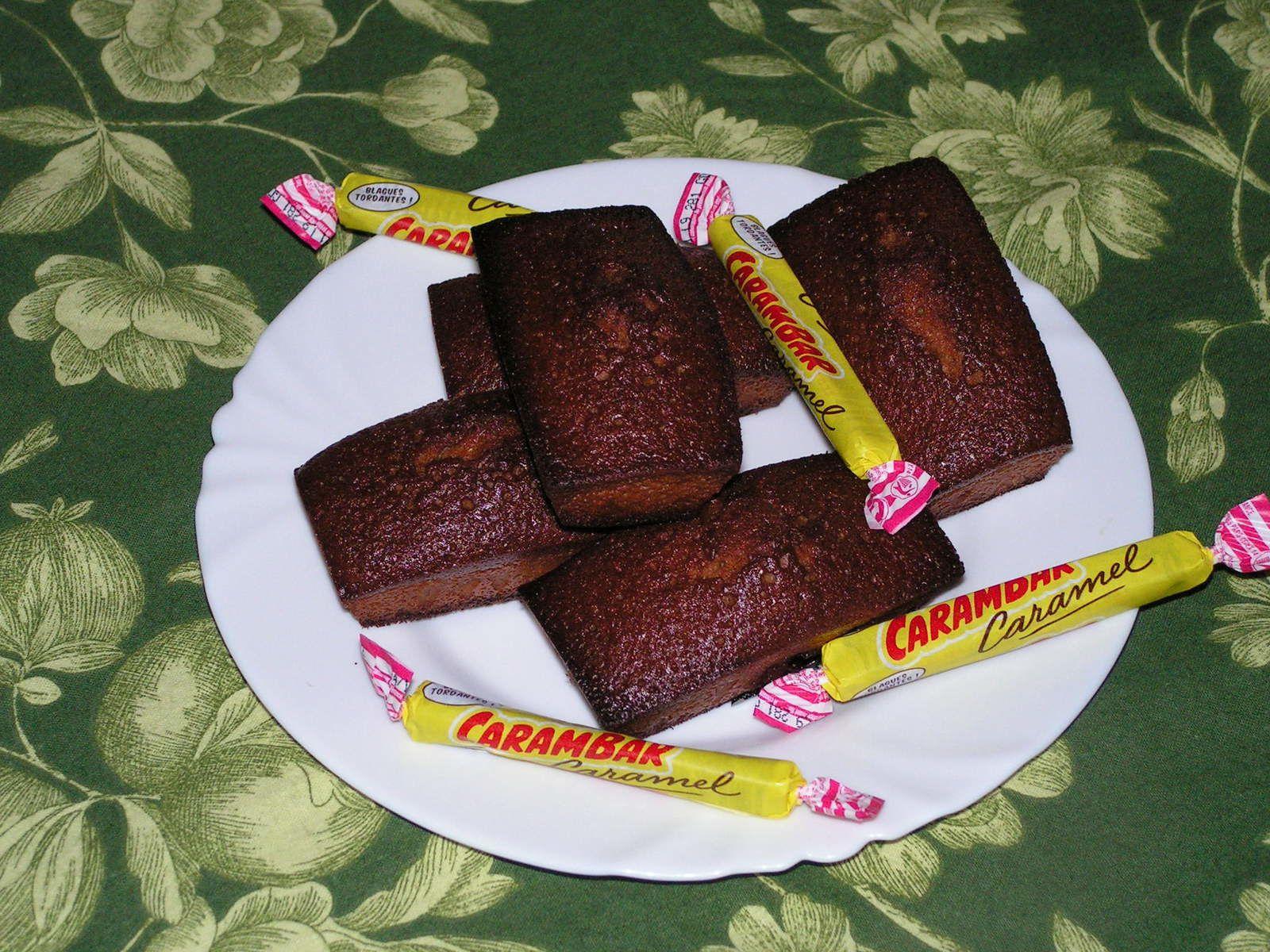Petits cakes aux carambars