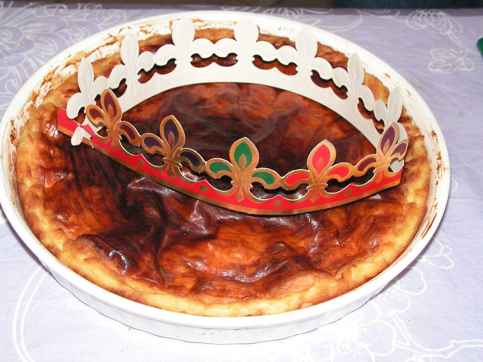 Galette franc-comtoise à la crème pâtissière
