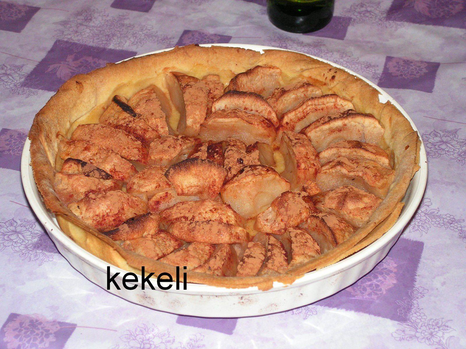 Tarte pomme cannelle