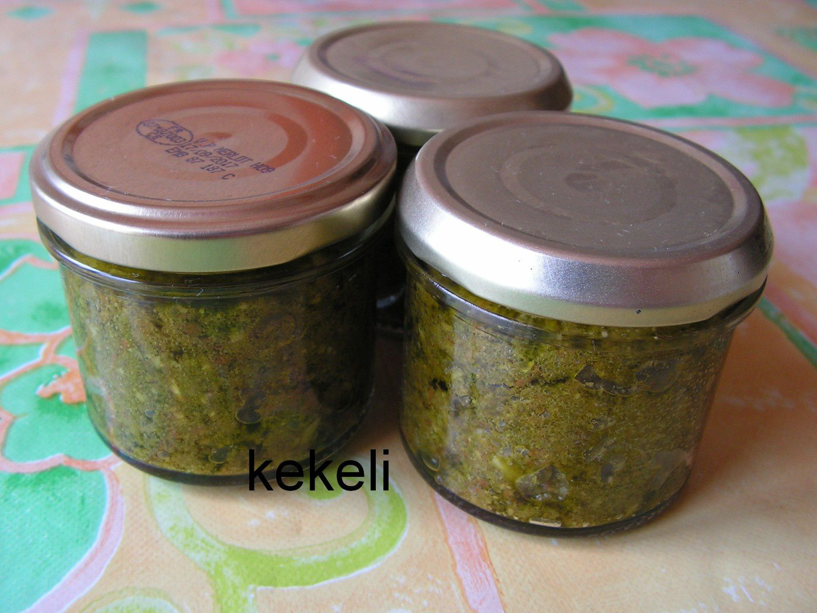 Pesto d'ail des ours stérilisé