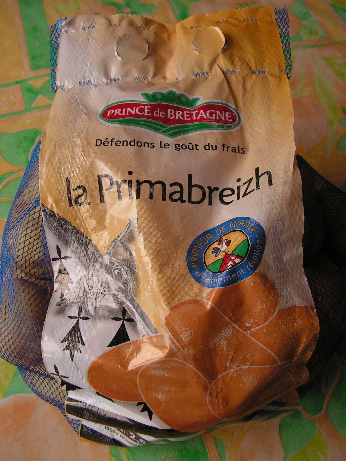 Salade de pommes de terre primeur aux herbes aromatiques