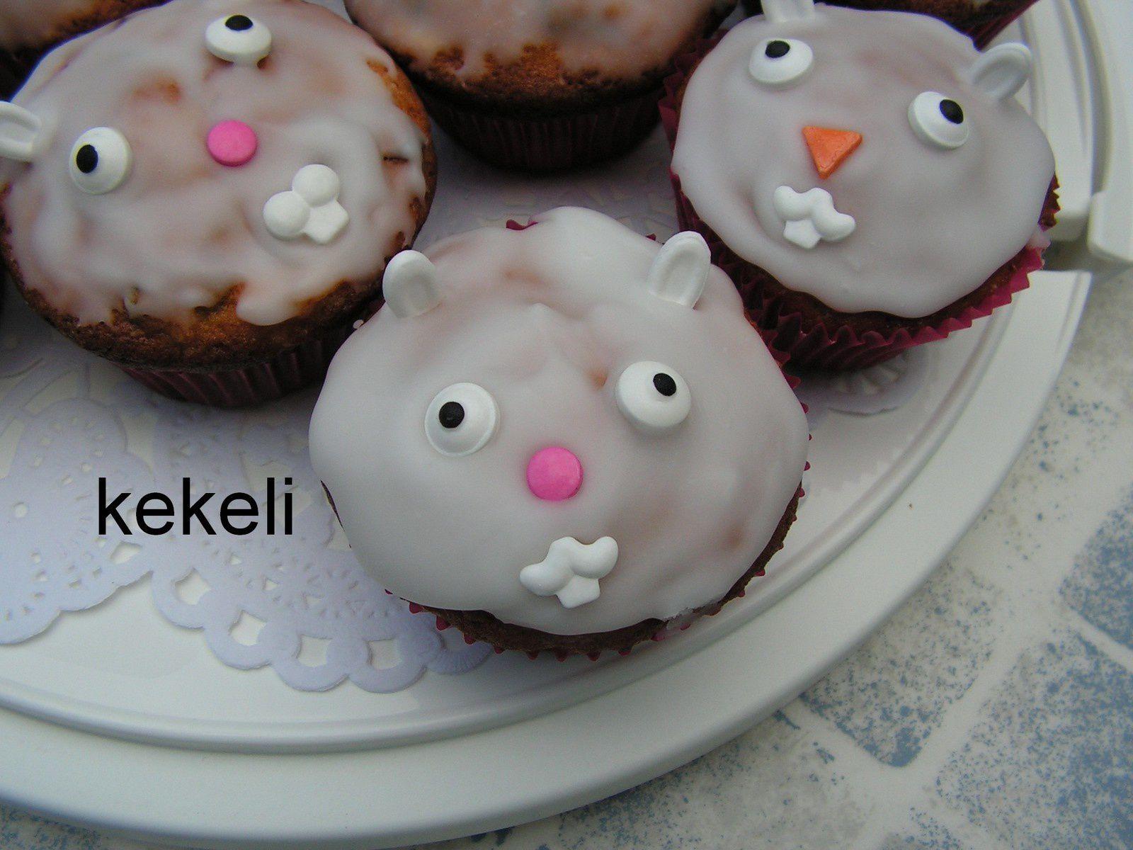 Muffins petits lapin