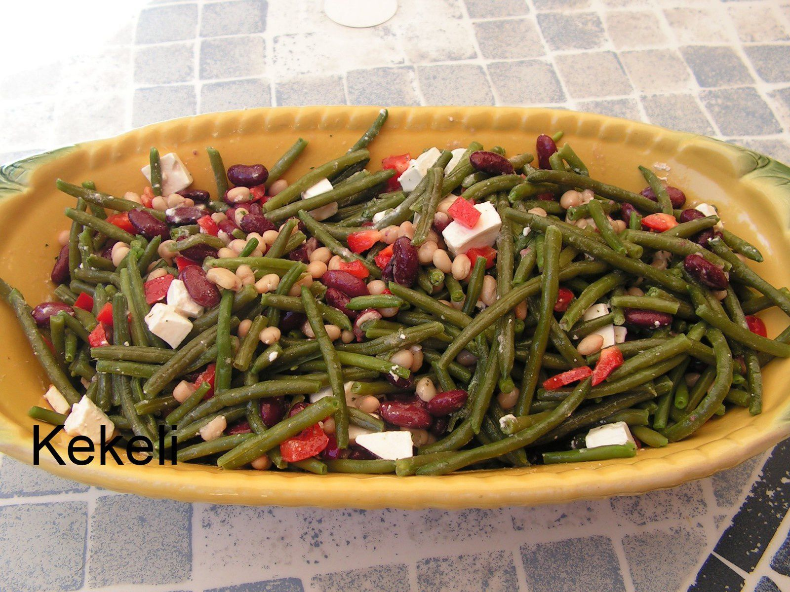 Salade aux 3 haricots