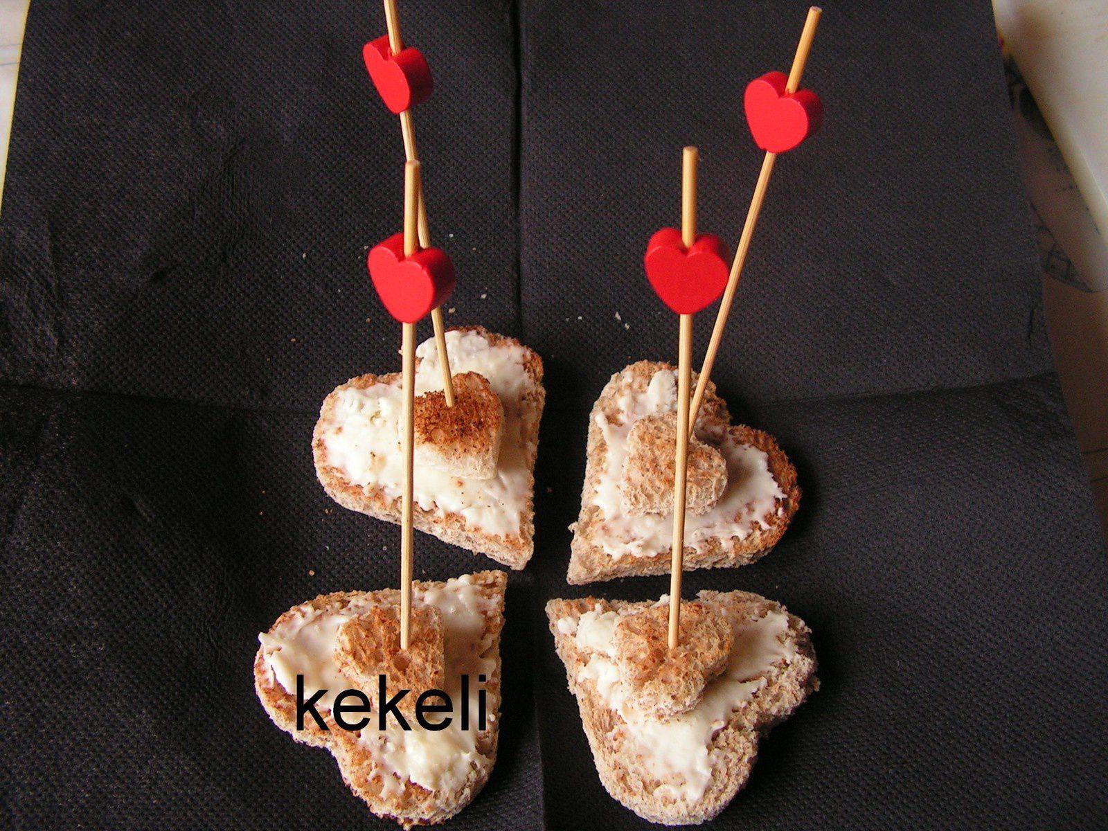 Toasts d'amoureux