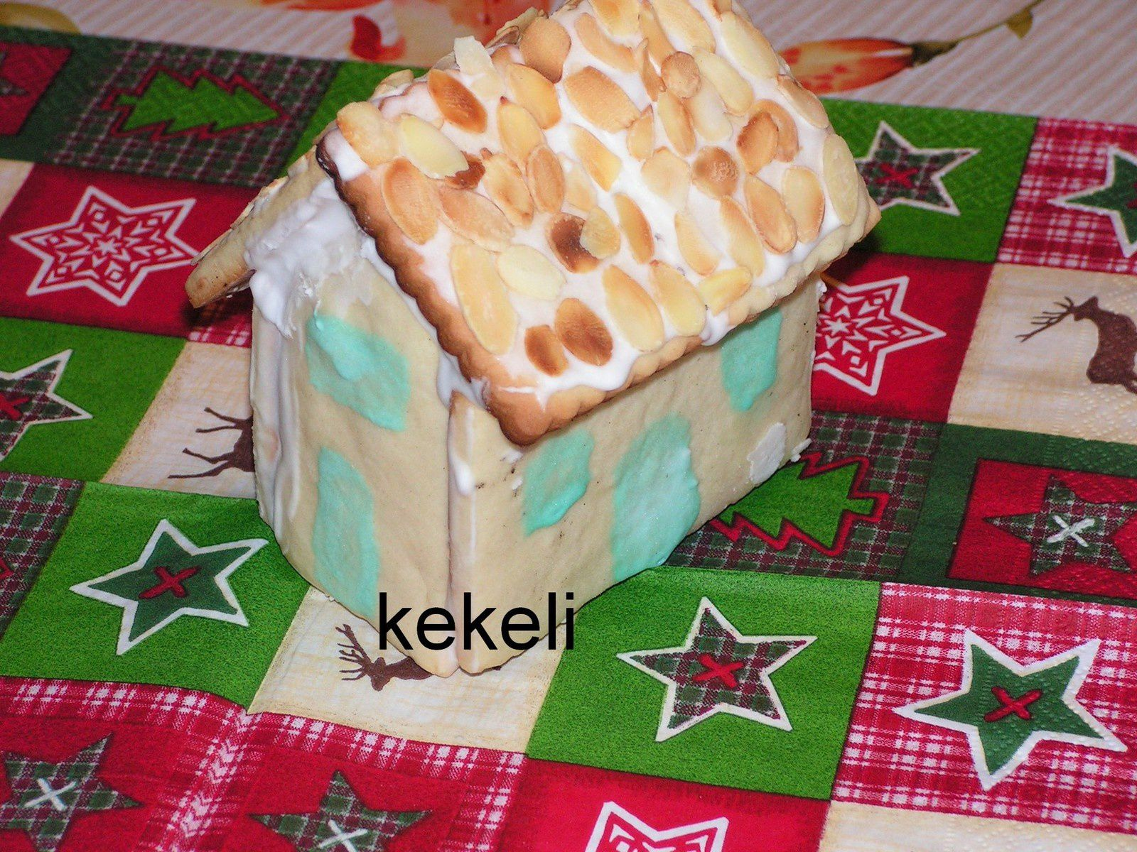 Maison en petits beurre