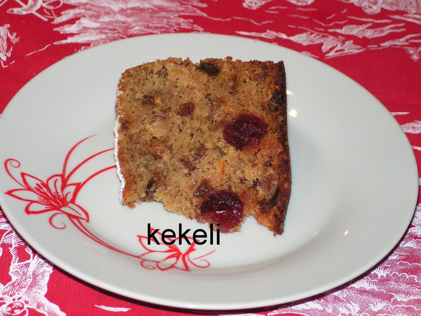 Christmas cake (pudding de Noël)