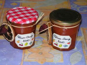 Confiture potiron-orange
