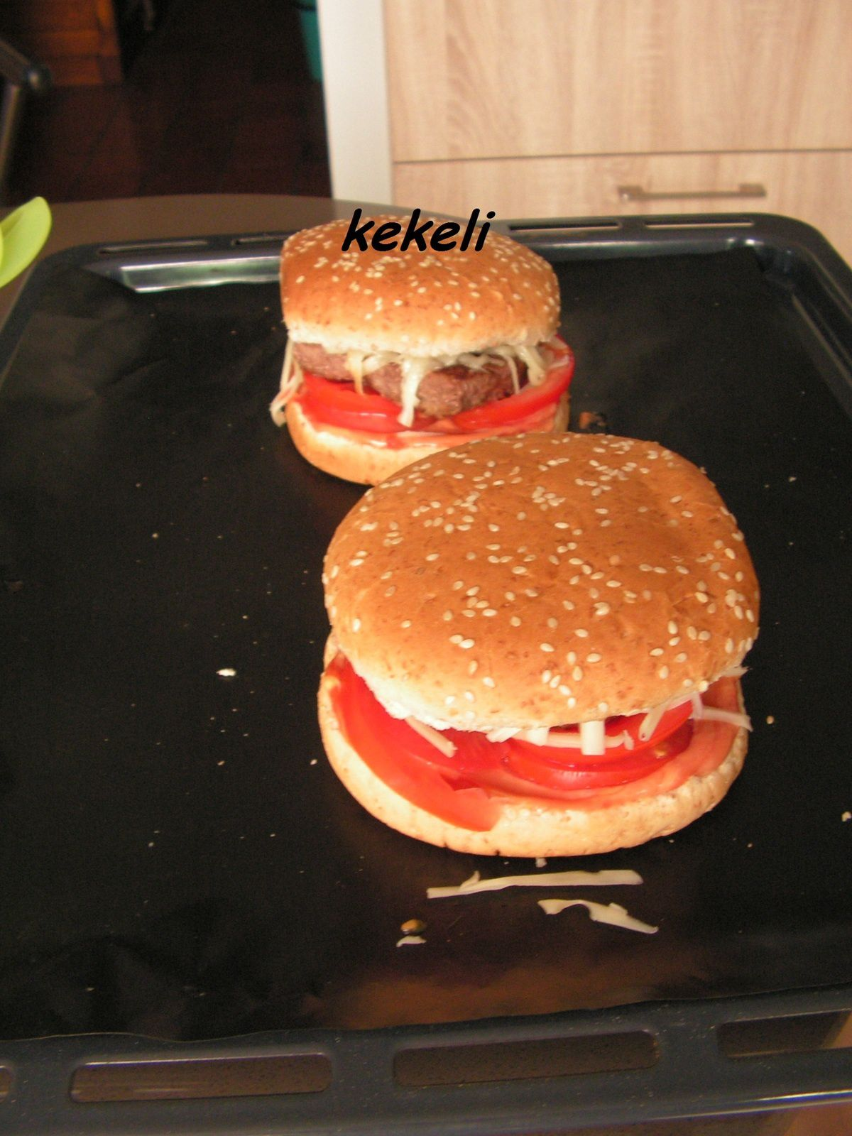 Poser Four Sur Micro Onde hamburger maison - le blog de kekeli