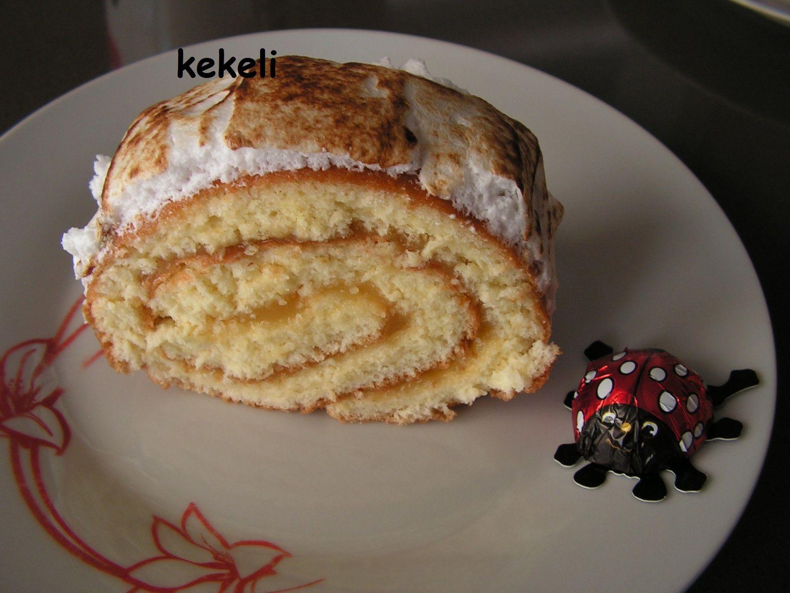 Biscuit roulé au lemon curd