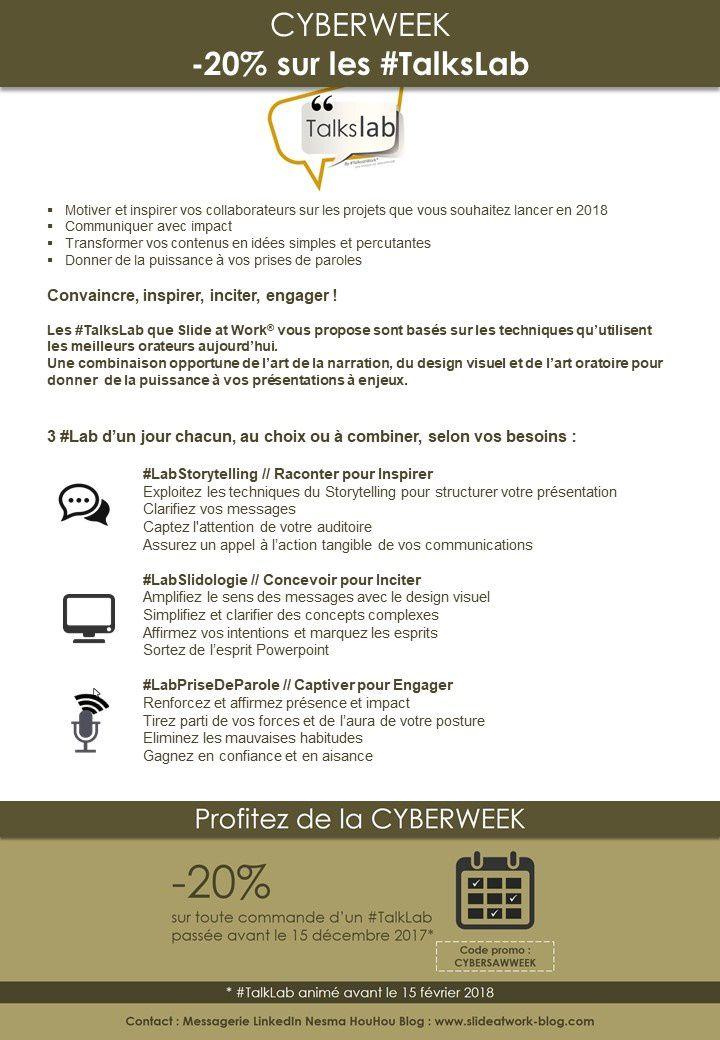 CYBERWEEK ! -20% sur les #TalksLab