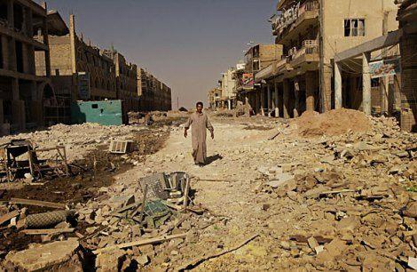 Vue de Nadjaf après l'invasion de 2003