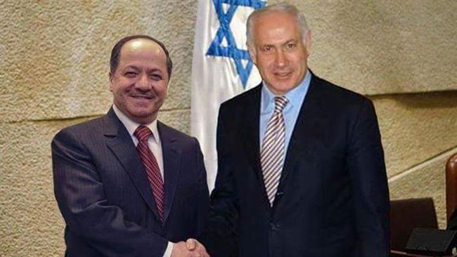 Massoud Barzani et Benyamin Netanyahou