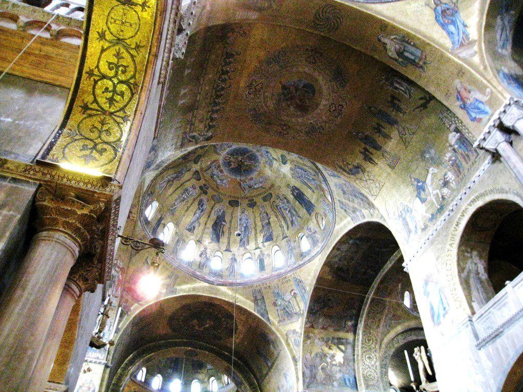 Basilique Saint-Marc à Venise, l'intérieur