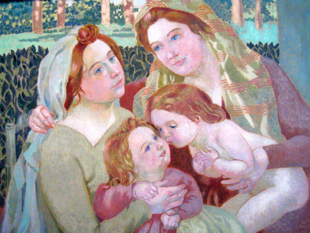 Maurice Denis, les deux mères