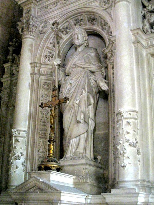 Une chapelle de la cathédrale de Pontoise