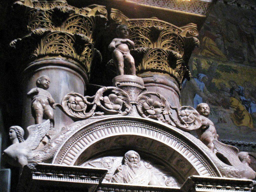 Chapelle St Pierre de la basilique St Marc à Venise