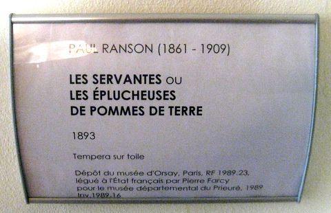 Paul Ranson, les éplucheuses de pommes de terre