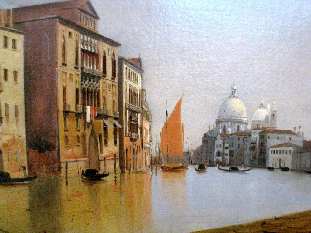 Charles-Louis Guigon, Vue de Venise, le grand canal
