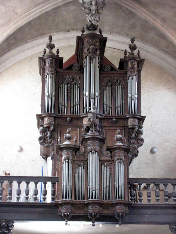L'orgue de l'église Notre-Dame de Pontoise