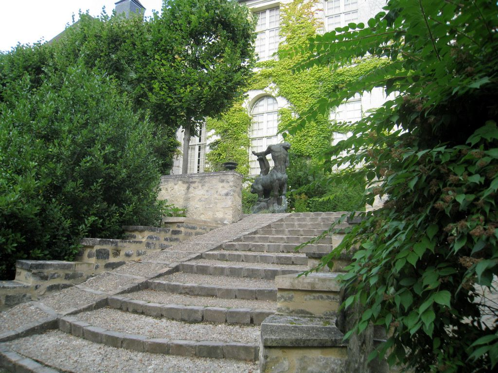 Dans le parc du musée Maurice Denis