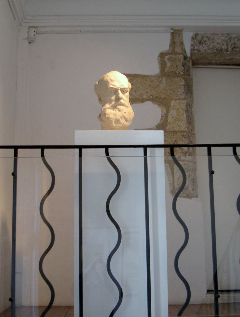 Pierre-Félix Fix-Masseau, buste d'Auguste Delaherche