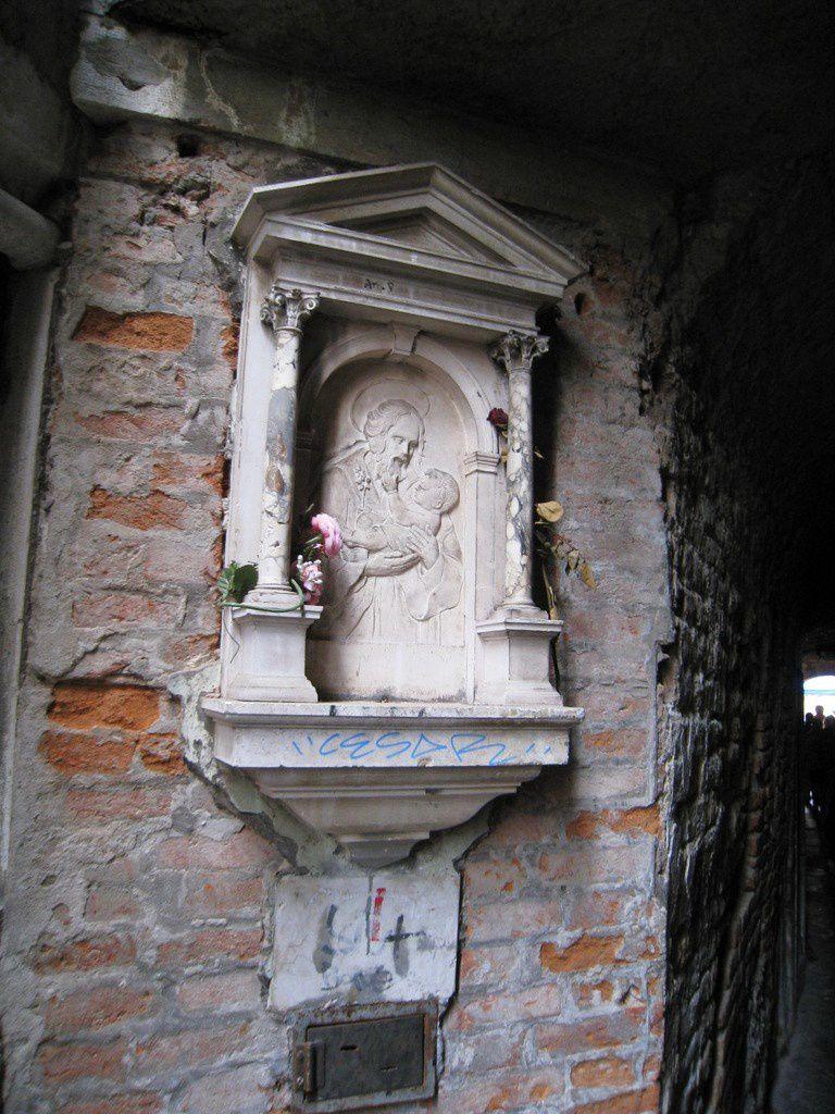 Sculptures diverses dans Venise (1/2)