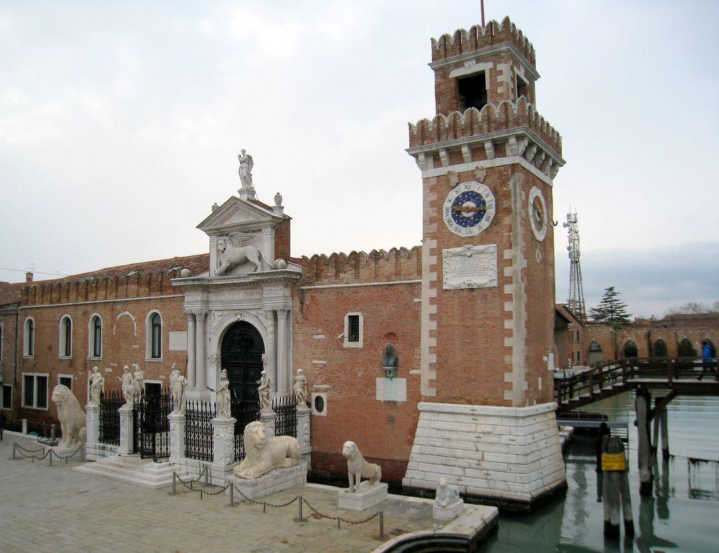 Le canal de l'arsenal, Venise