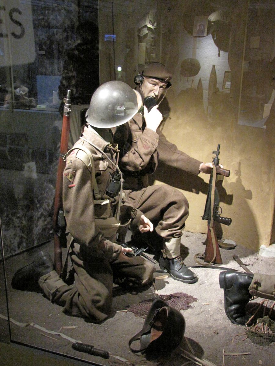Batterie de Melville, unités alliées d'assaut (casemate n°3)