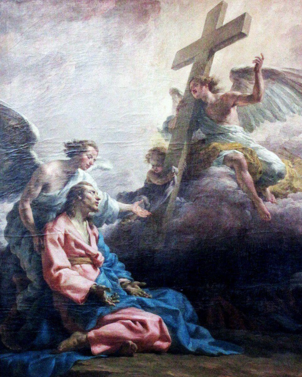 Noël Hallé, Notre Seigneur au jardin des Oliviers