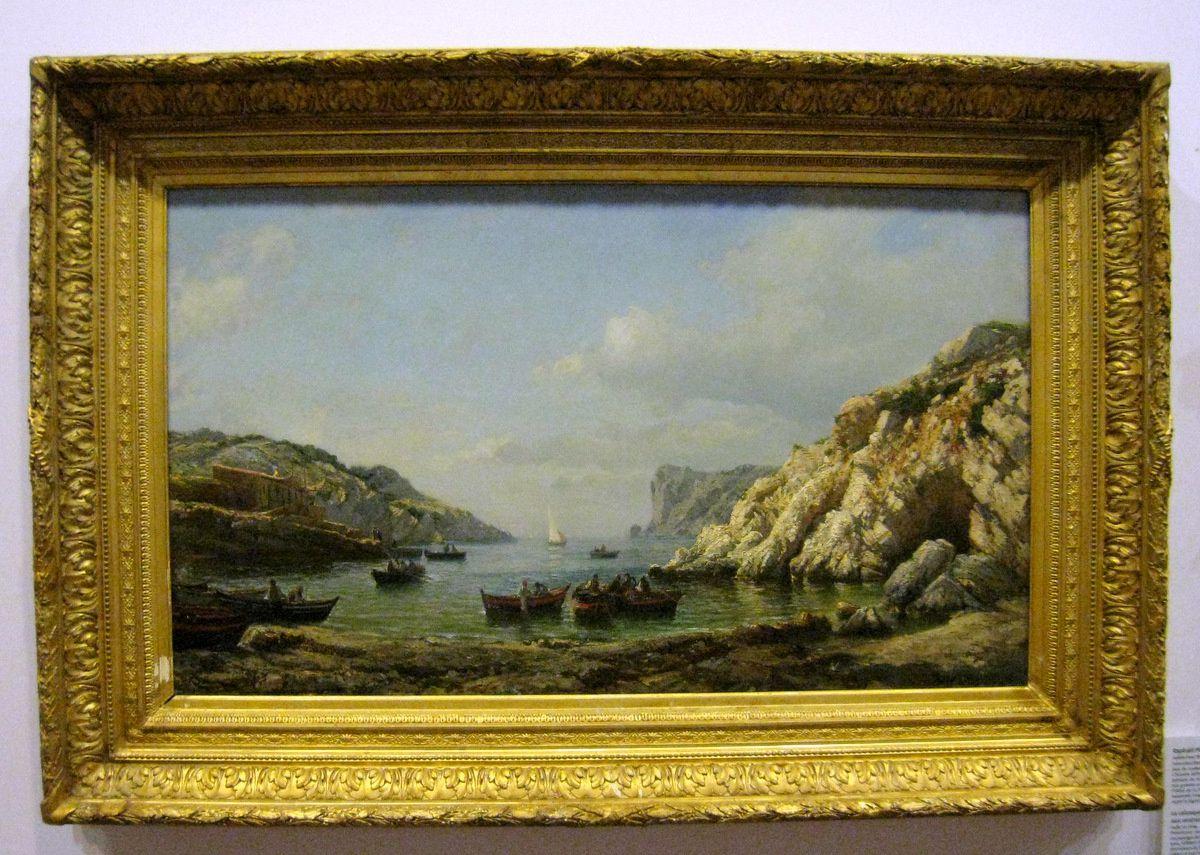 Raphaël Ponson, la calanque de Sormiou aux environs de Marseille