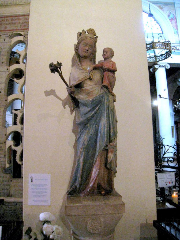 Notre-Dame du Bon-Retour, église St Germain de St Germain-en-Laye