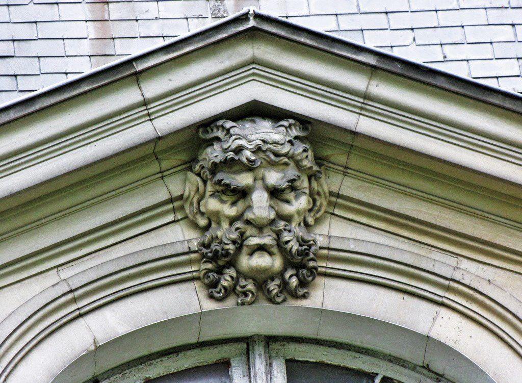 Sculptures du château de Franconville à St Martin-du-Tertre