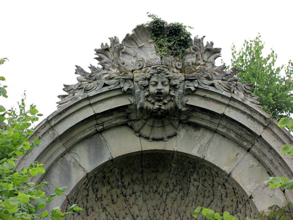 Fontaine-vasque du château de Franconville