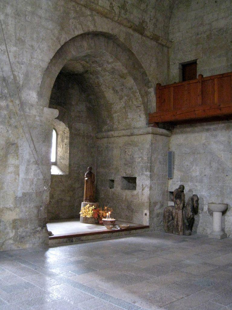 Chapelle de St Benoît de l'Abbatiale de l'abbaye de Boscodon