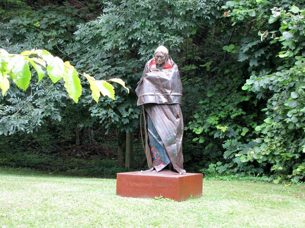 Kokopelli, sculpture d'Emmanuel Michel