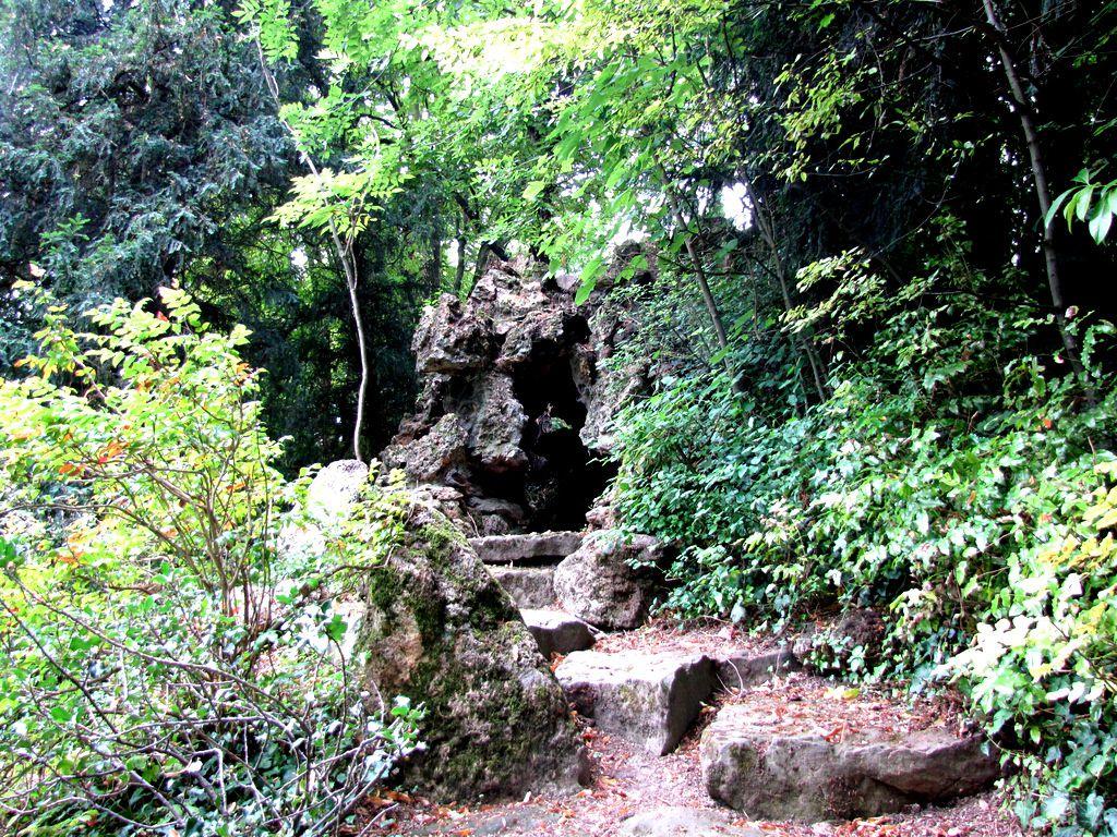 Rocailles (2/2), parc du château de Monte Cristo