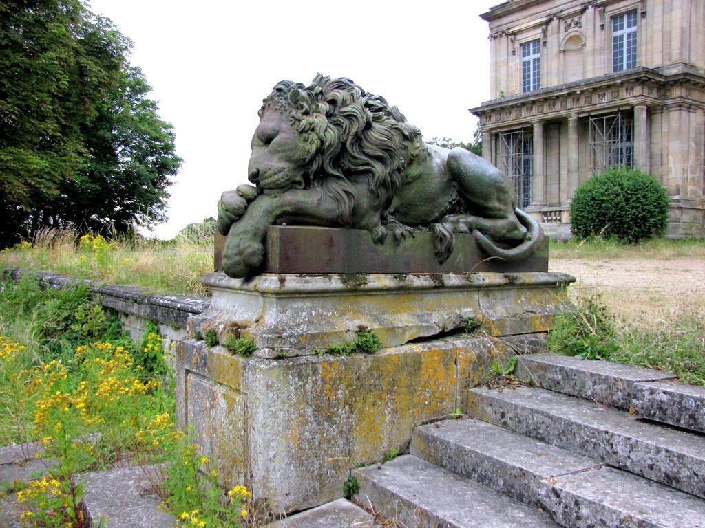 Les lions du château de Franconville