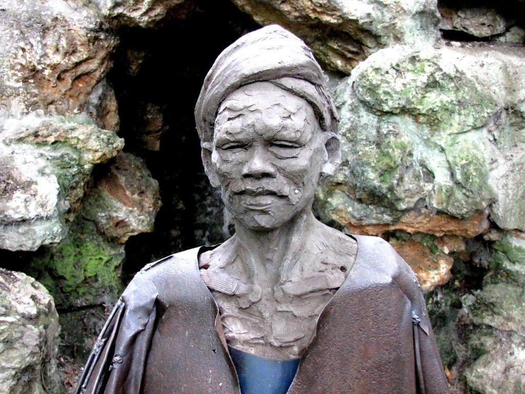 Fellah, sculpture d'Emmanuel Michel