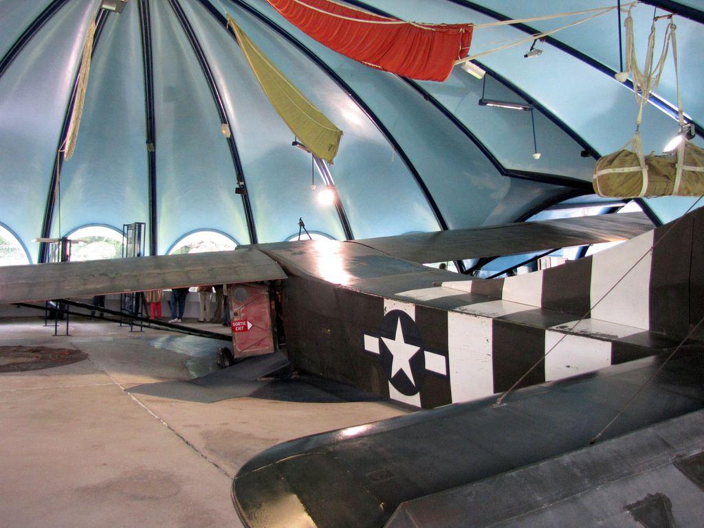 Planeur WACO CG-4A Glider, musée Airborne