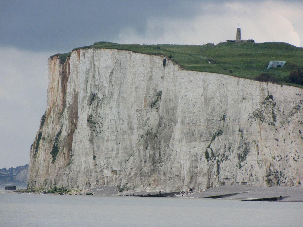 Mers-les-Bains et sa falaise