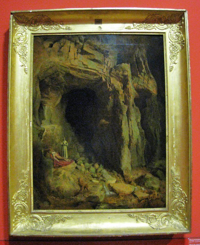 Fleury François Richard, Mort de saint Paul ermite