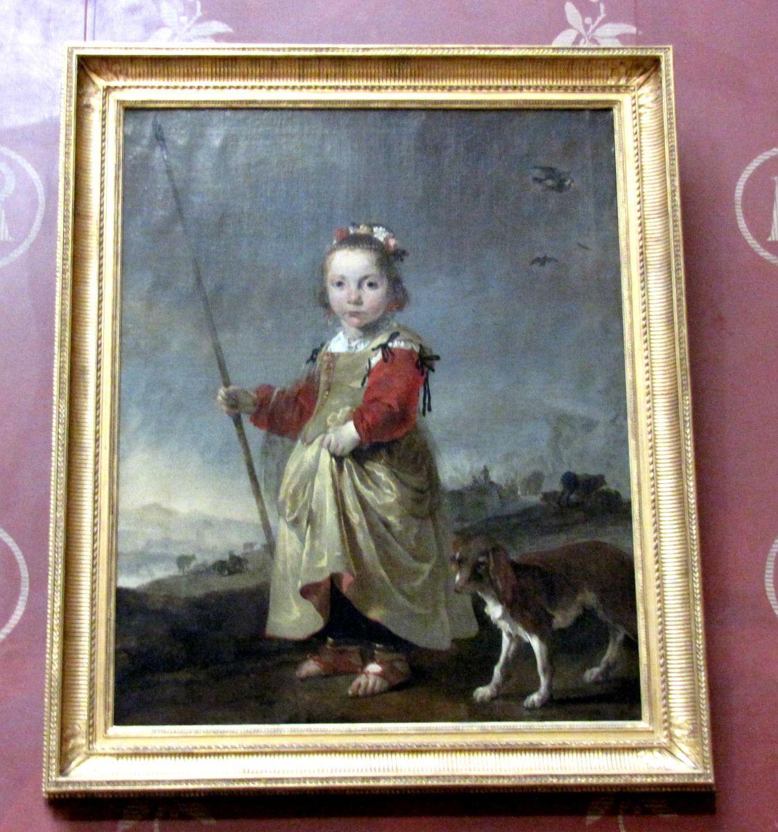 Jan Baptist Weenix, Portrait d'une petite fille