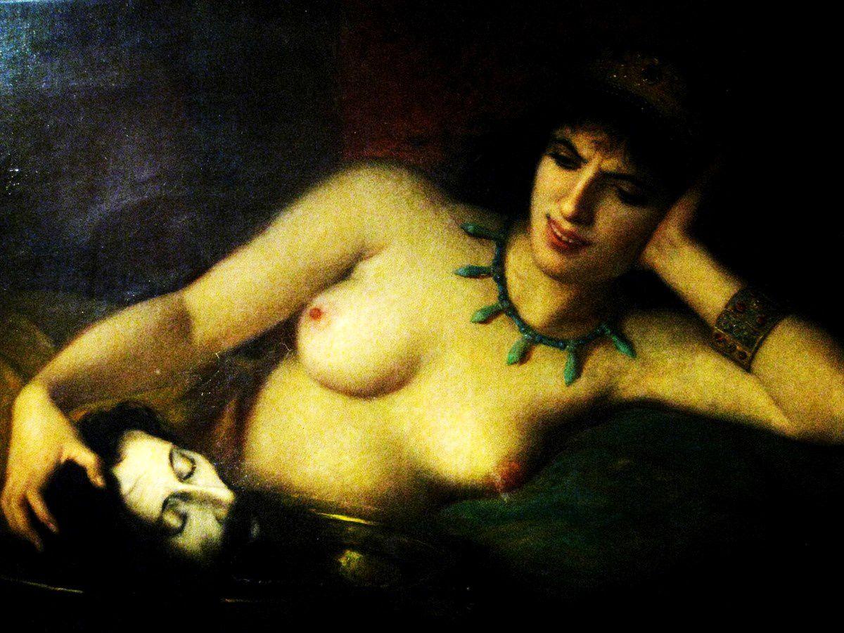 Charles Landelle, vengeance d'Hérodiade