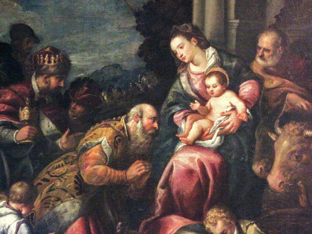 L'adoration des mages, église Notre-Dame de Pontoise