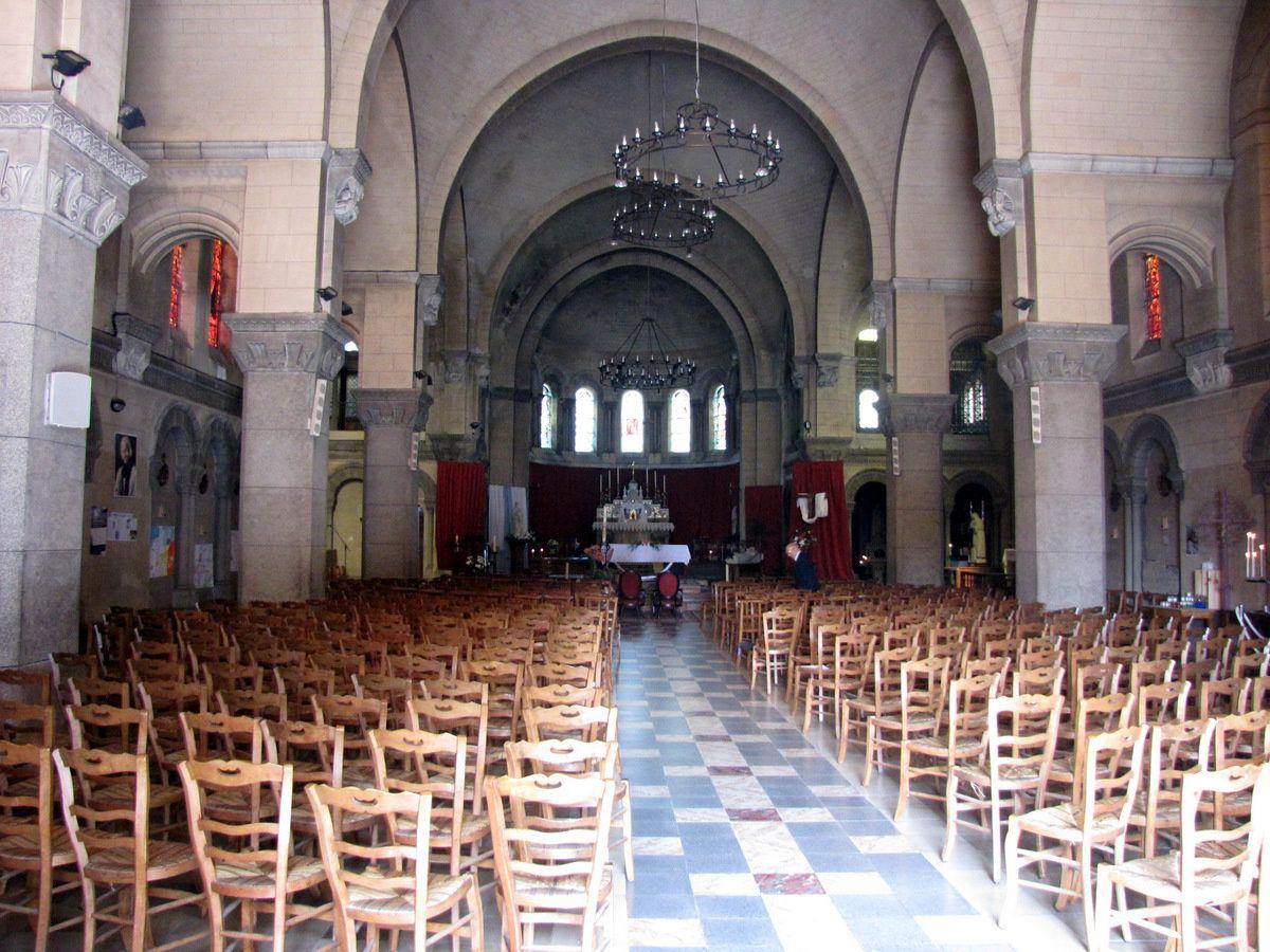 Chapiteaux de l'église de Mers-les-Bains