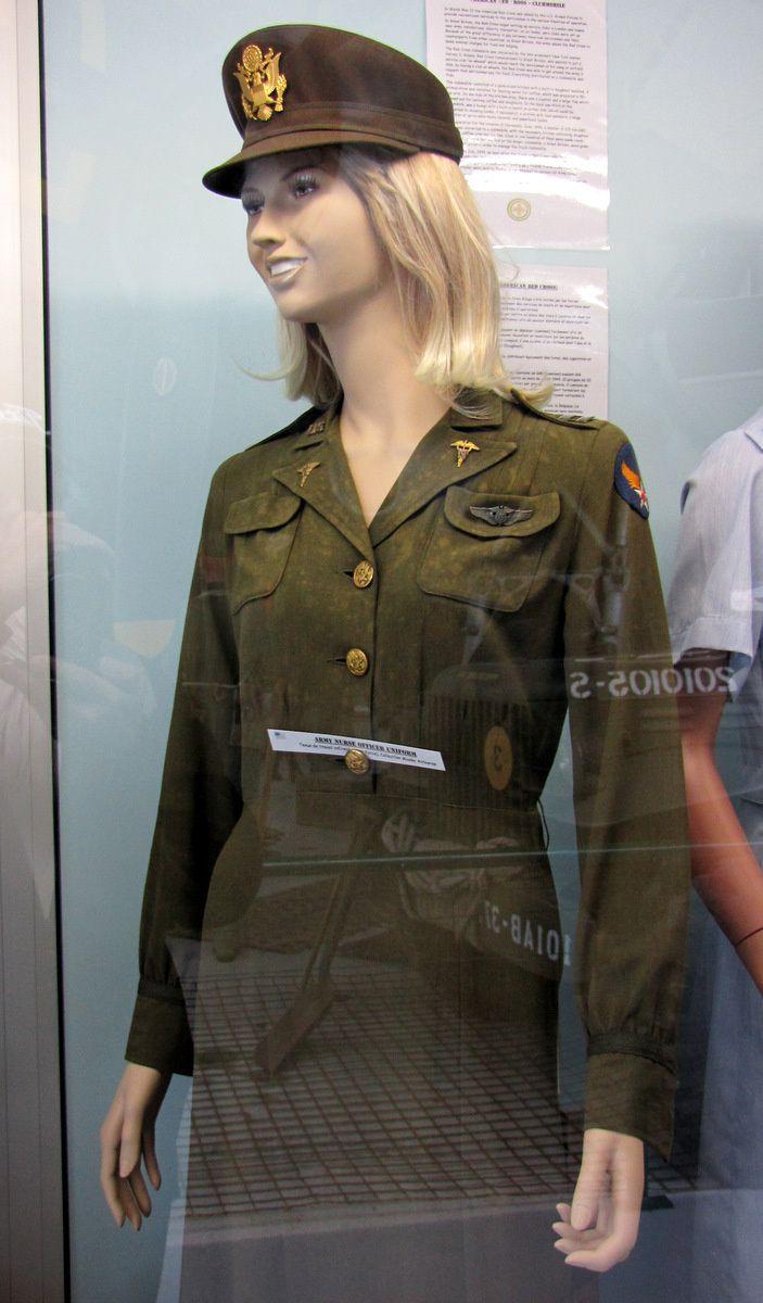 Tenue d'infirmière Air Force, musée Airborne