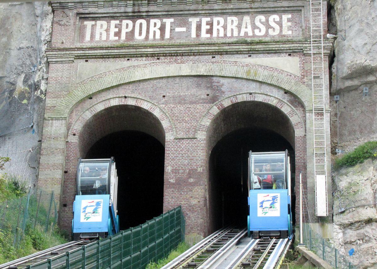 Le funiculaire du Tréport