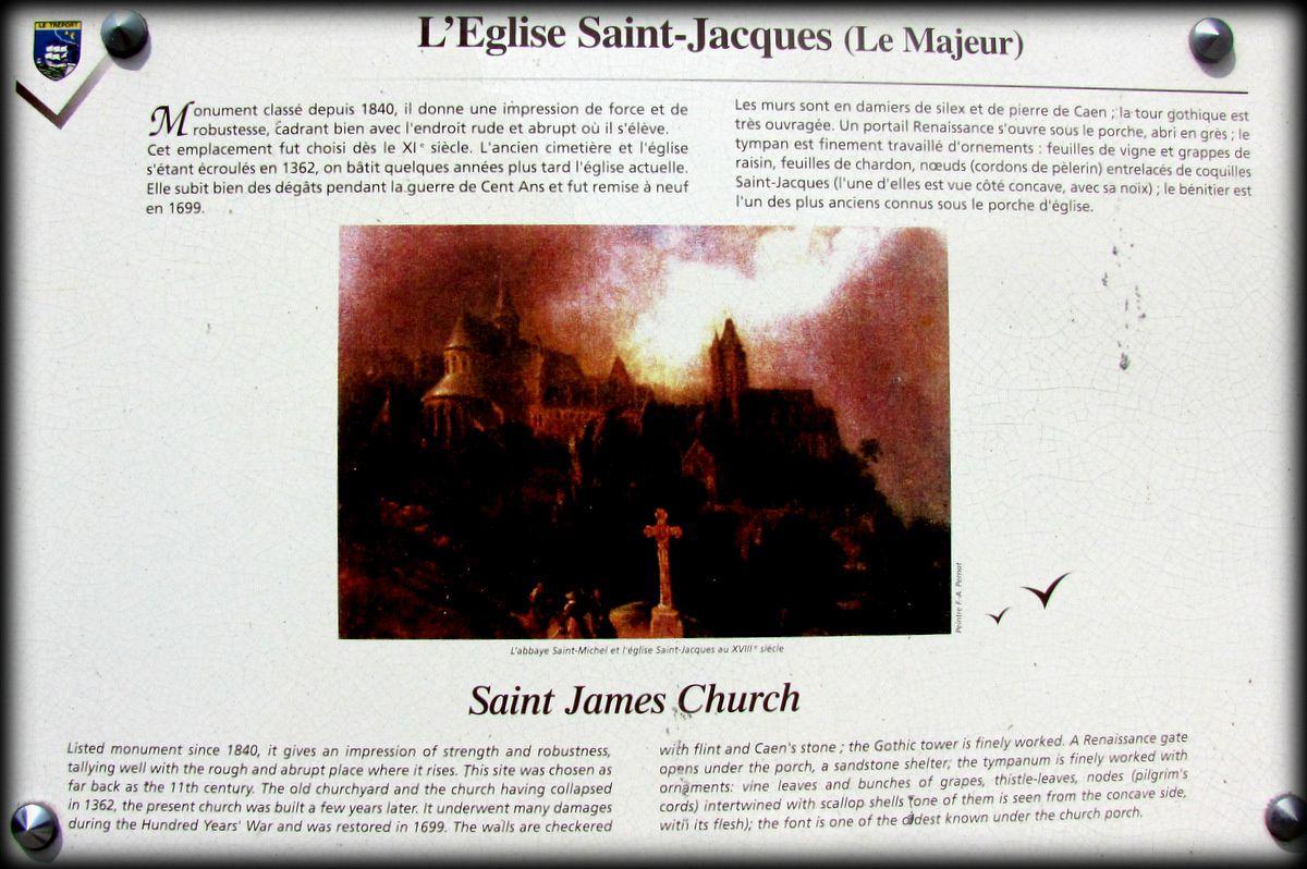L'église Saint Jacques (le Majeur), Le Tréport